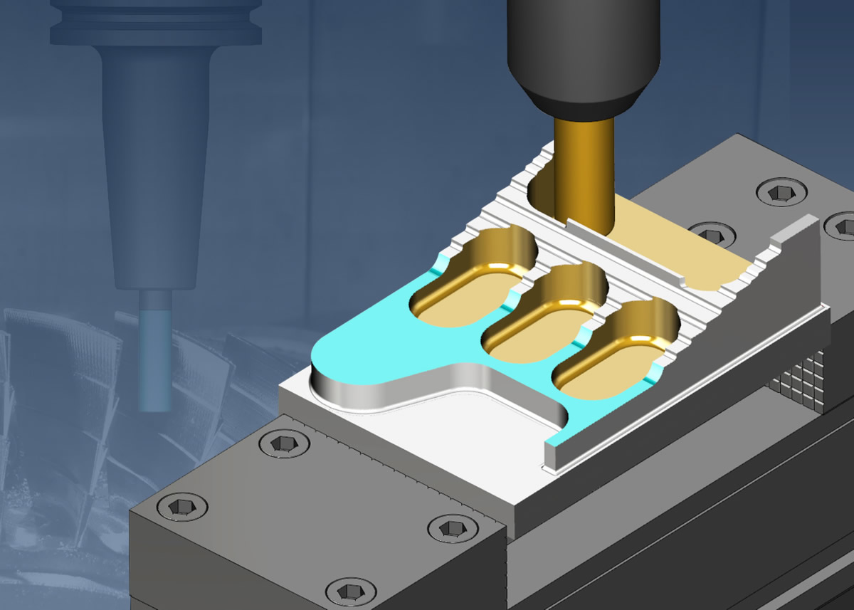 VERICUT GIVES YOU REALISTIK 3D SIMULATIONS OF ENTIRE CNC MACHINES, JUST LIKE THEY BEHAVE IN THE SHOP, WITH THE MOST ACCURATE COLLISION-DETECTION AVAILABLE